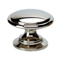 polished stainless steel knobs